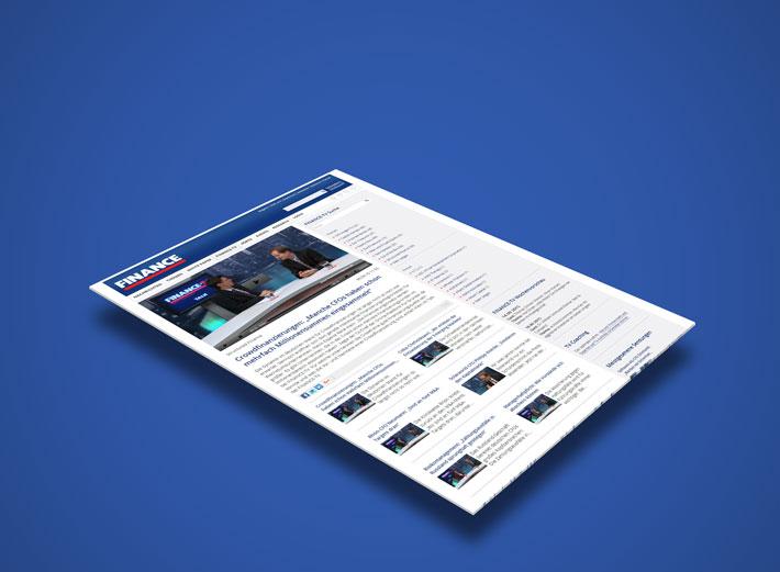 Finance TV erstellt durch die portrino GmbH
