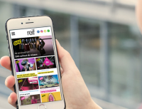 Mobile first magazin reif - entwickelt durch die portrino GmbH