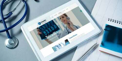 Title Wird bei Mouseover gezeigt Website Relaunch für TelradKo