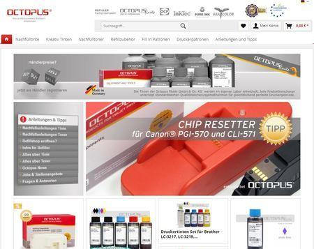 Octopus-Office online shop - portrino