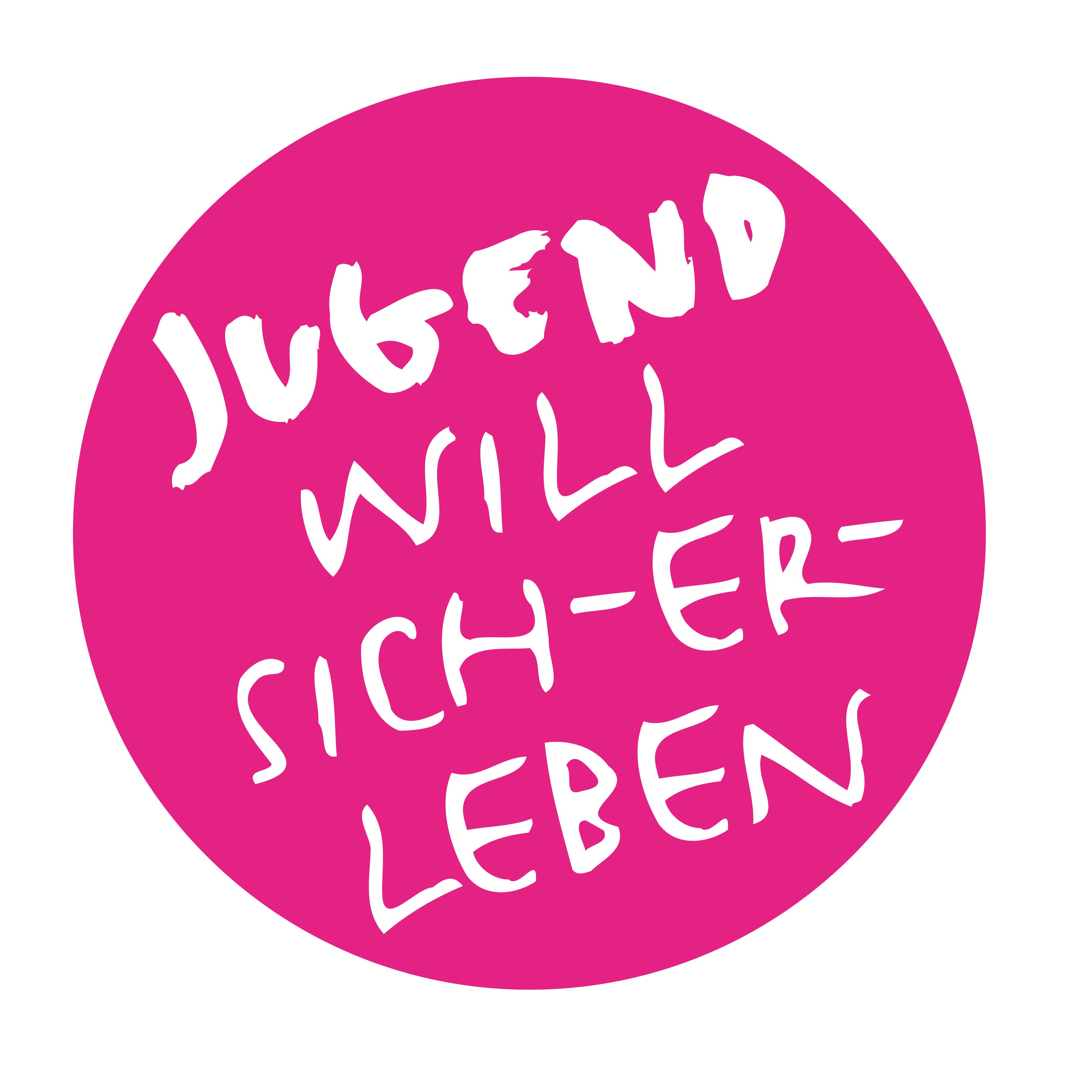 Jugend will sich-er-leben Logo