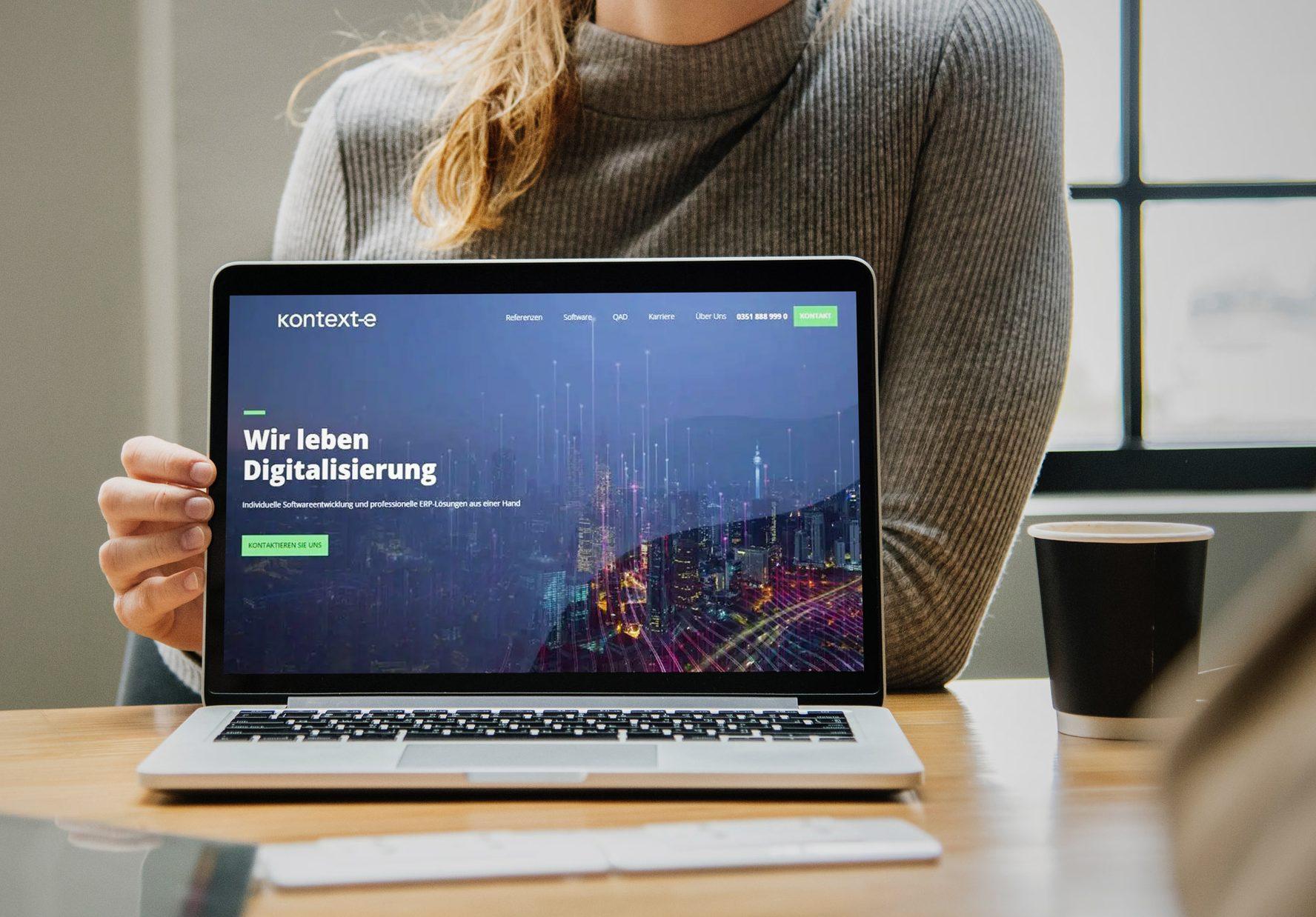 Website Kontext-e Vorschau - portrino GmbH