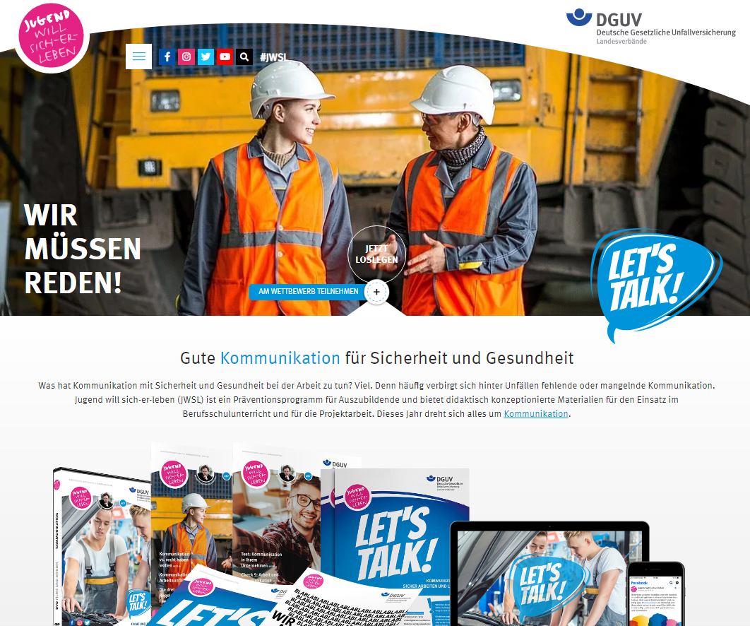 Reference for the jwsl.de website relaunch