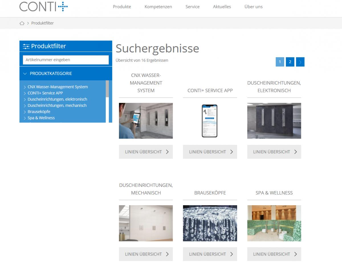 Implementierung eines zentralen PIM für CONTI+ - portrino GmbH