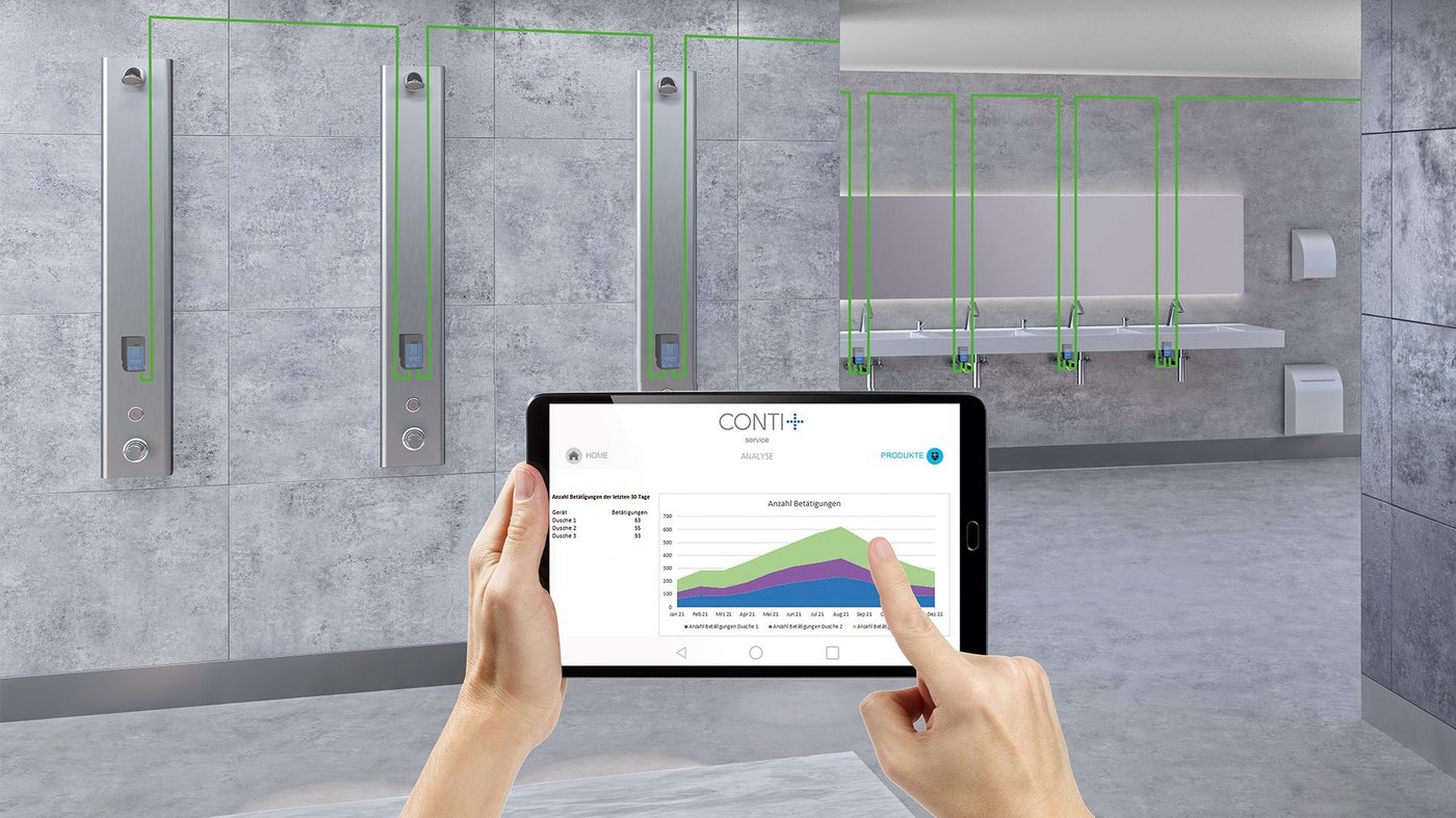 PIM implementation support for sanitary manufacturer CONTI+ | portrino GmbH